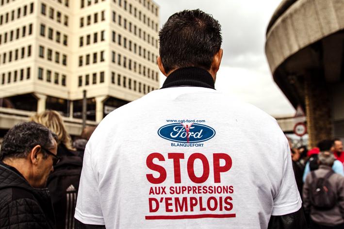 La CGT fait condamner Ford Blanquefort
