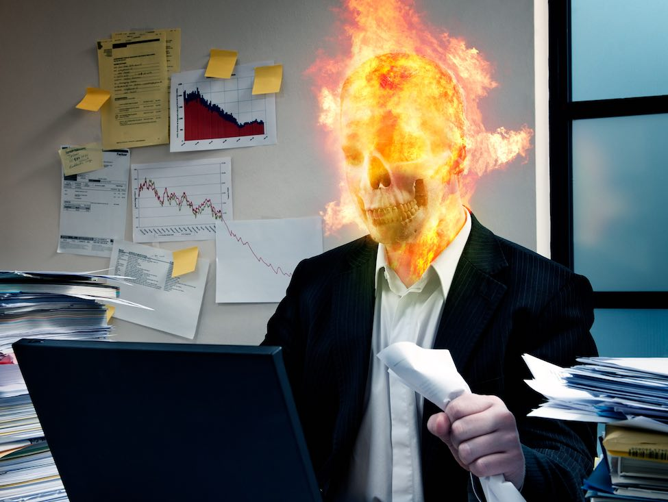 Les cas de burn out explosent