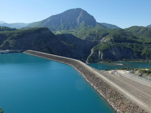 Casse dans les barrages hydroélectriques