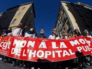 Grèves pour la santé en Occitanie en mars