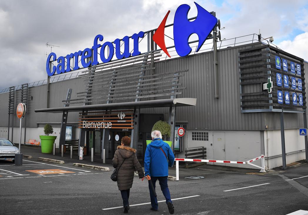 Les Carrefour en grève pour dénoncer le plan social