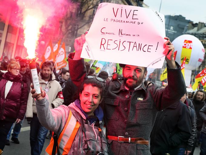 Cheminots en grève pour la SNCF et pour le service public