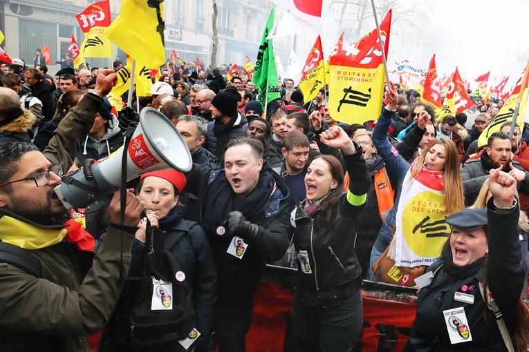 La manifestation du 22 mars est la dernière journée nationale de mobilisation interprofessionnelle. La CGT a appelé à une nouvelle journée du même ordre, le 19 avril prochain.