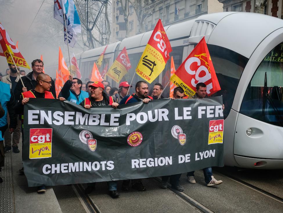 Grève des cheminots : ça démarre fort