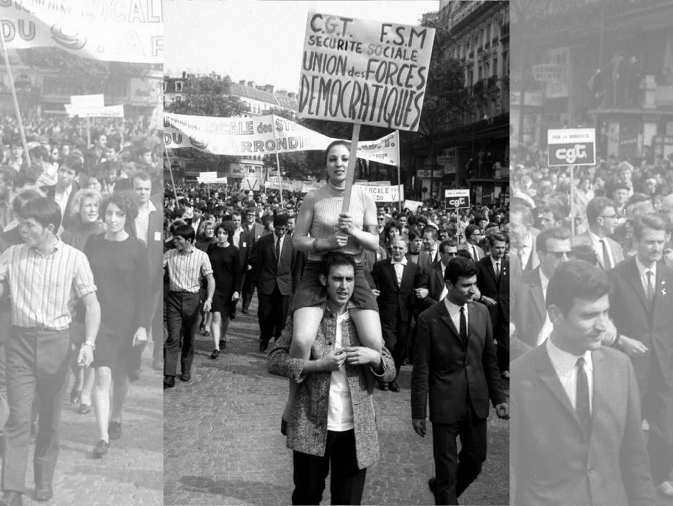Les enjeux syndicaux de mai 68