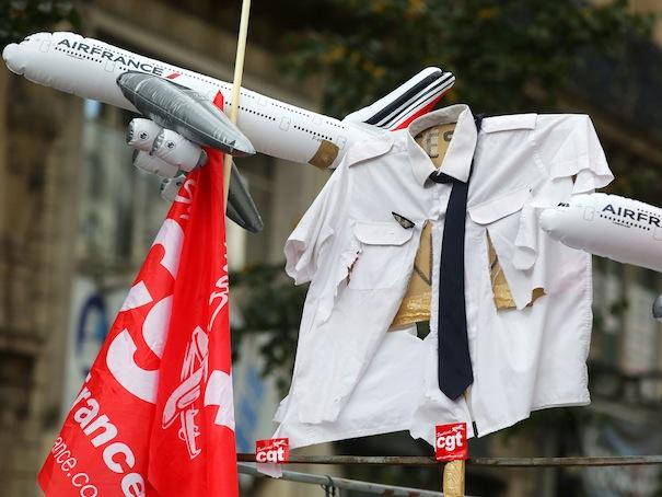 Procès Air France : triple peine pour quatre ex-salariés