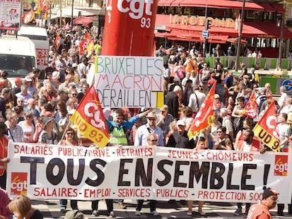 26 mai : marée populaire pour l'égalité, la justice sociale et la solidarité