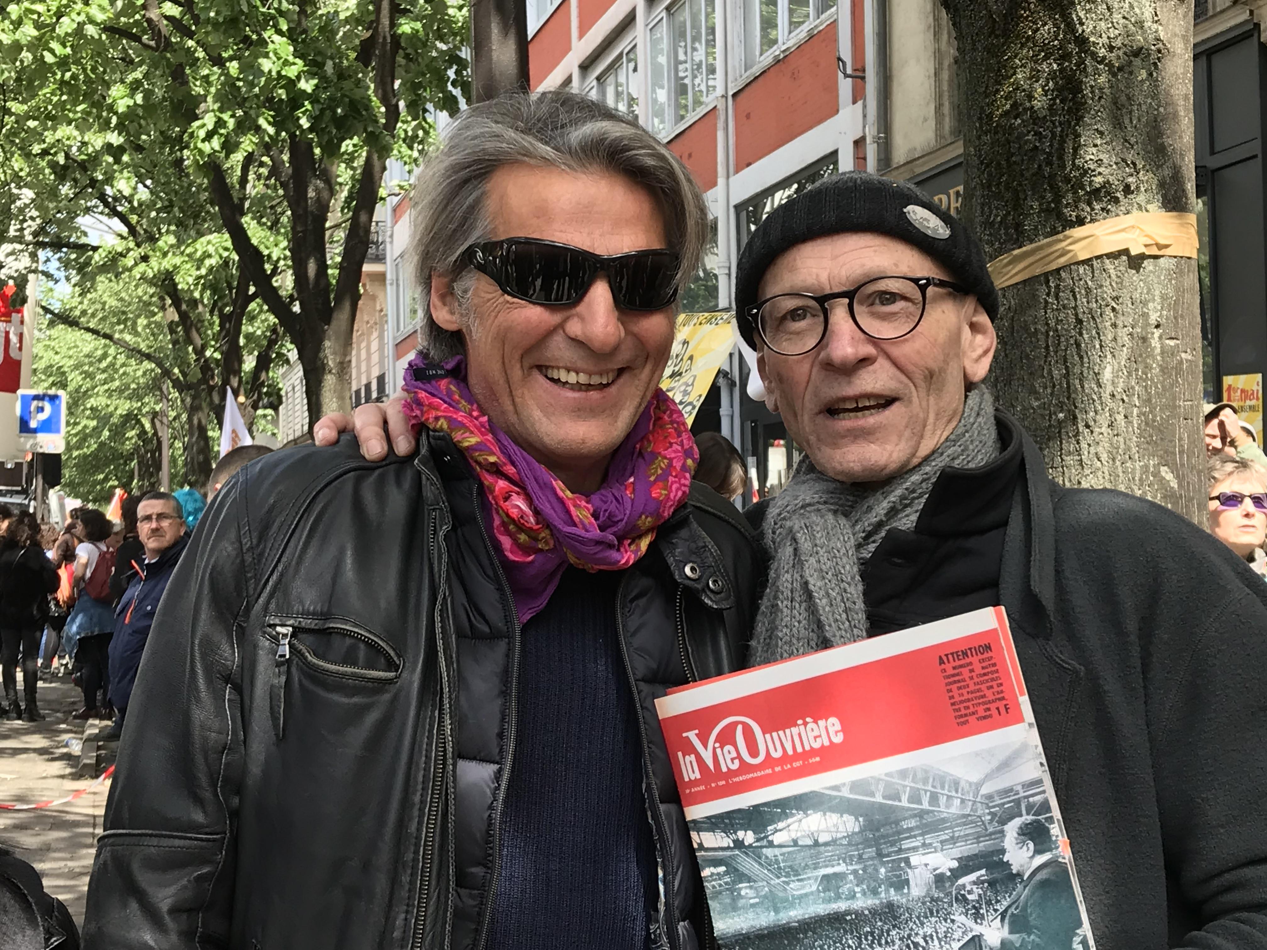 Yvan Le Bolloc'h, soutien et réalisateur d'un docu sur la lutte des cheminots
