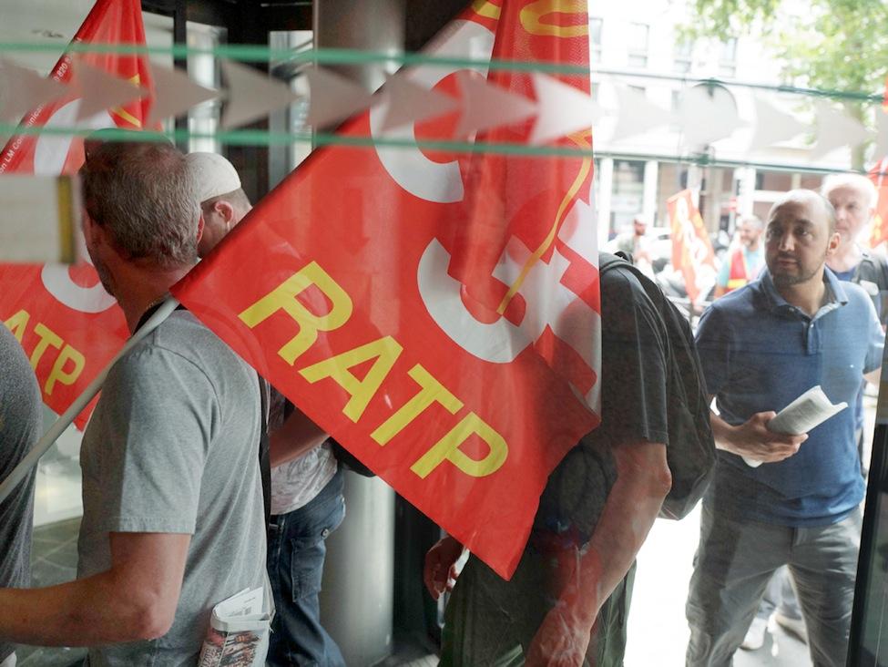 Répression syndicale à la RATP ?