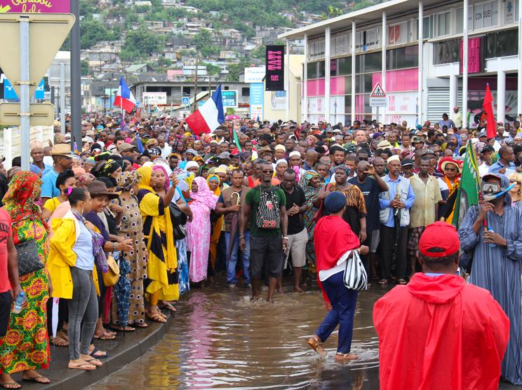 Les syndicats mahorais méfiants sur le plan d'urgence