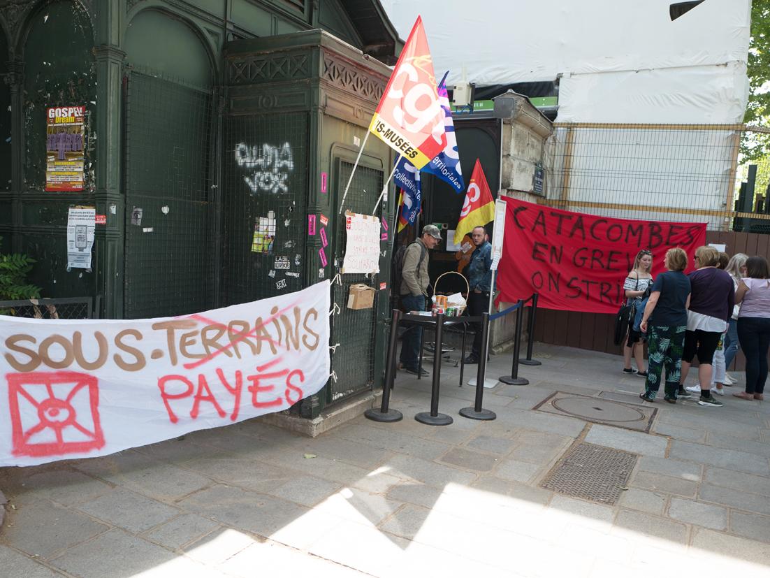 Catacombes de Paris : victoire après 7 semaines de grève