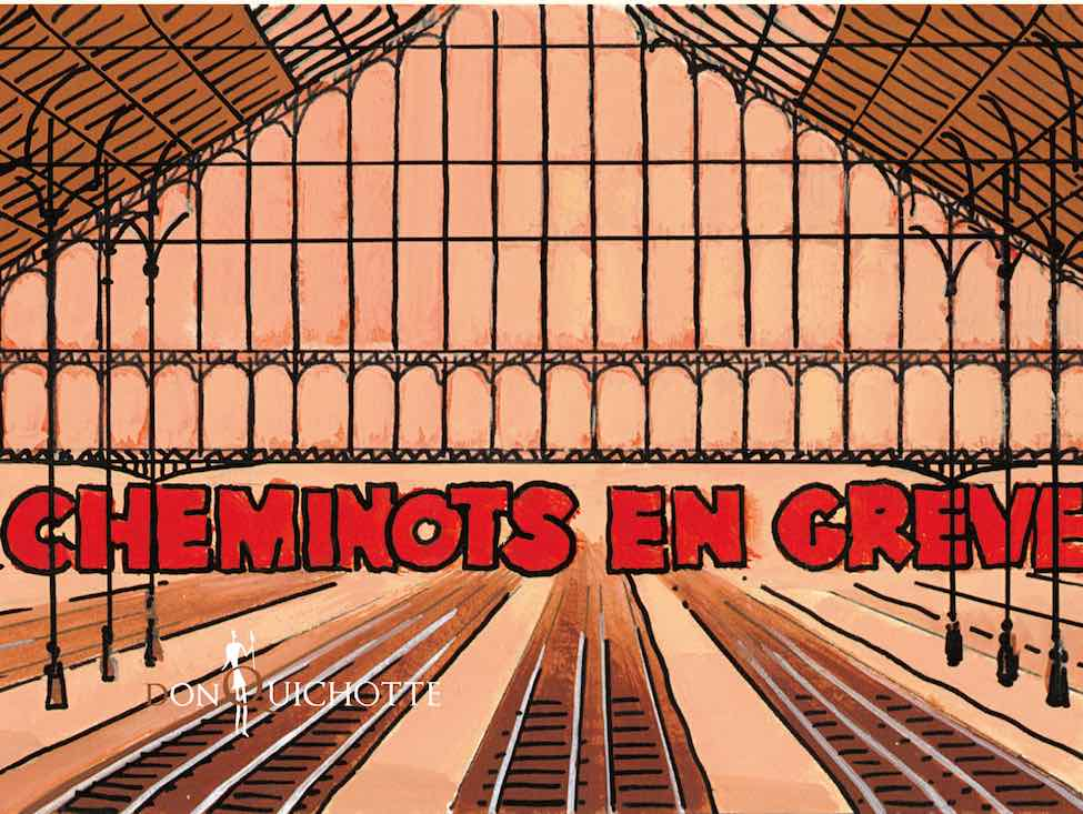 « La Bataille du rail » ou le soutien d'un collectif d'écrivains à la grève des cheminots
