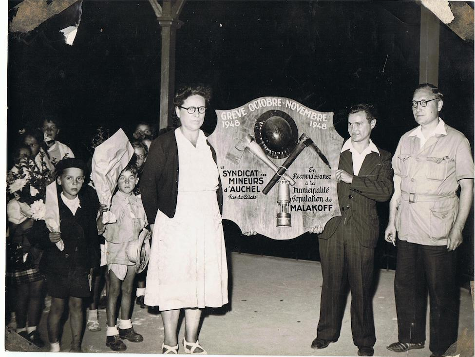 La longue quête des mineurs de 1948
