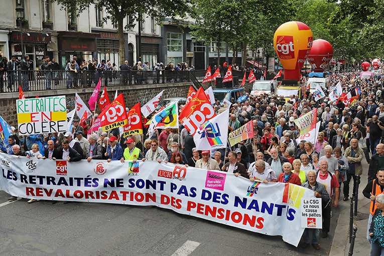 L'intersyndicale des retraités appelle à manifester dans toute la France le 8 octobre