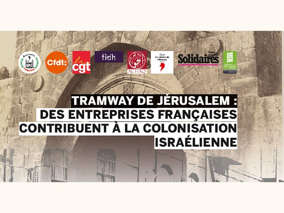 Quand des entreprises françaises collaborent à la colonisation israélienne
