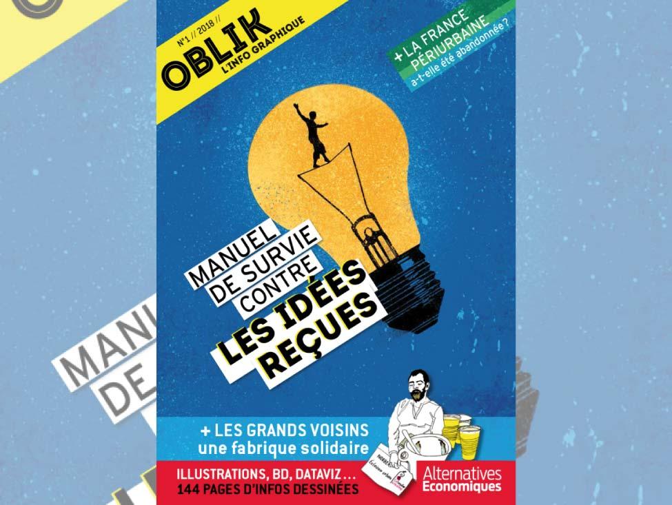 Oblik : la revue d'Alter Eco qui dynamite les clichés