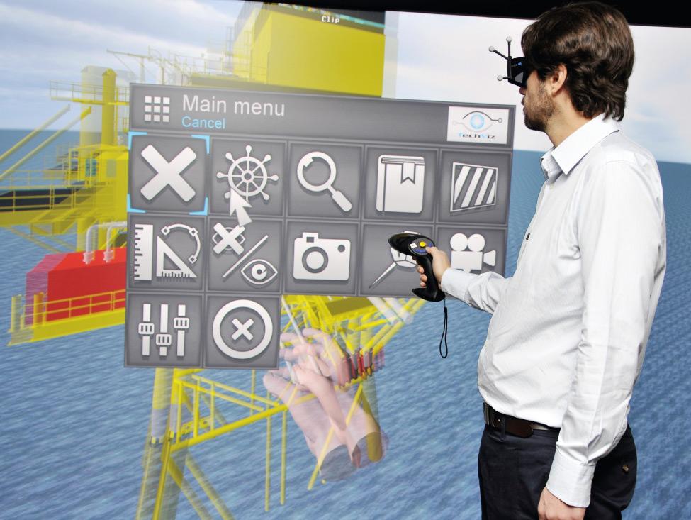 Réalité virtuelle, travail réel