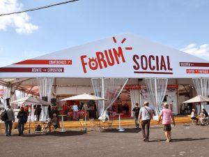 3 jours de Forum social à la Fête de l'Humanité 2018