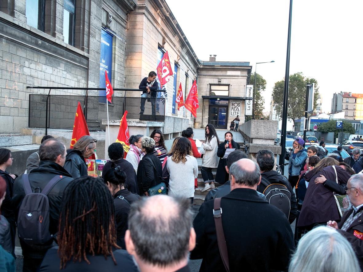 Grève reconduite au théâtre de la Commune d'Aubervilliers