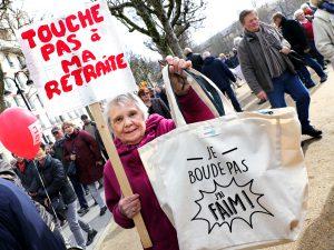 Les retraités manifesteront partout en France le 18 octobre