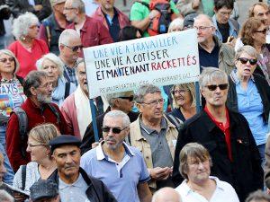 La colère des retraités a envahi les rues