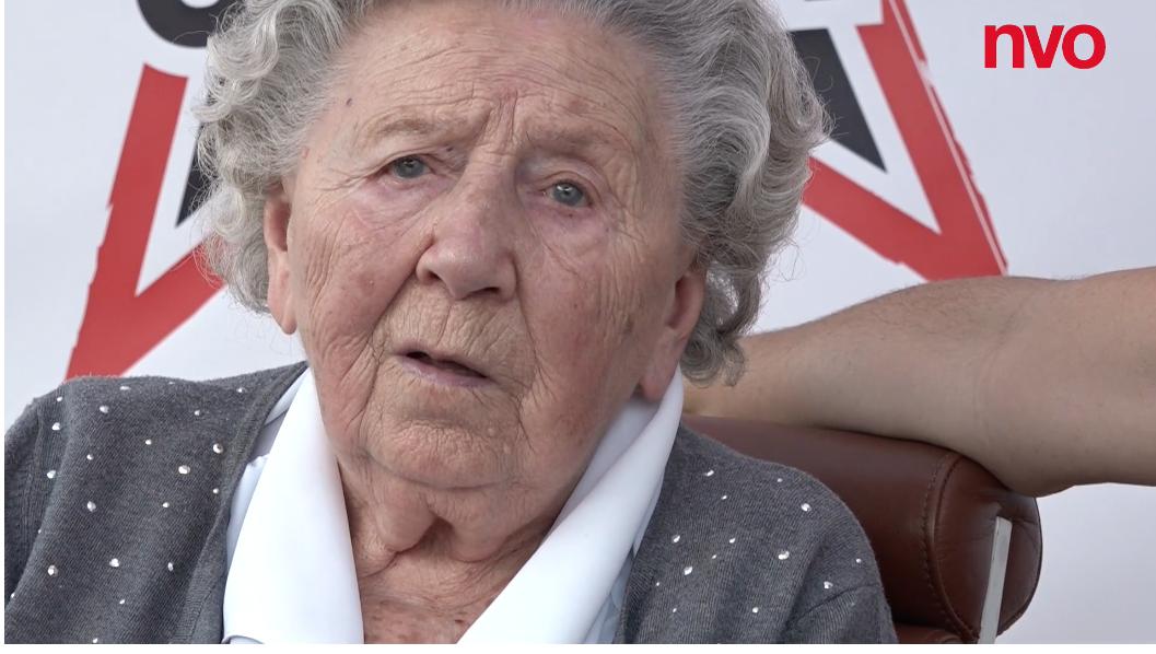 Jeannette Vanderschooten, 100 ans au service de la paix