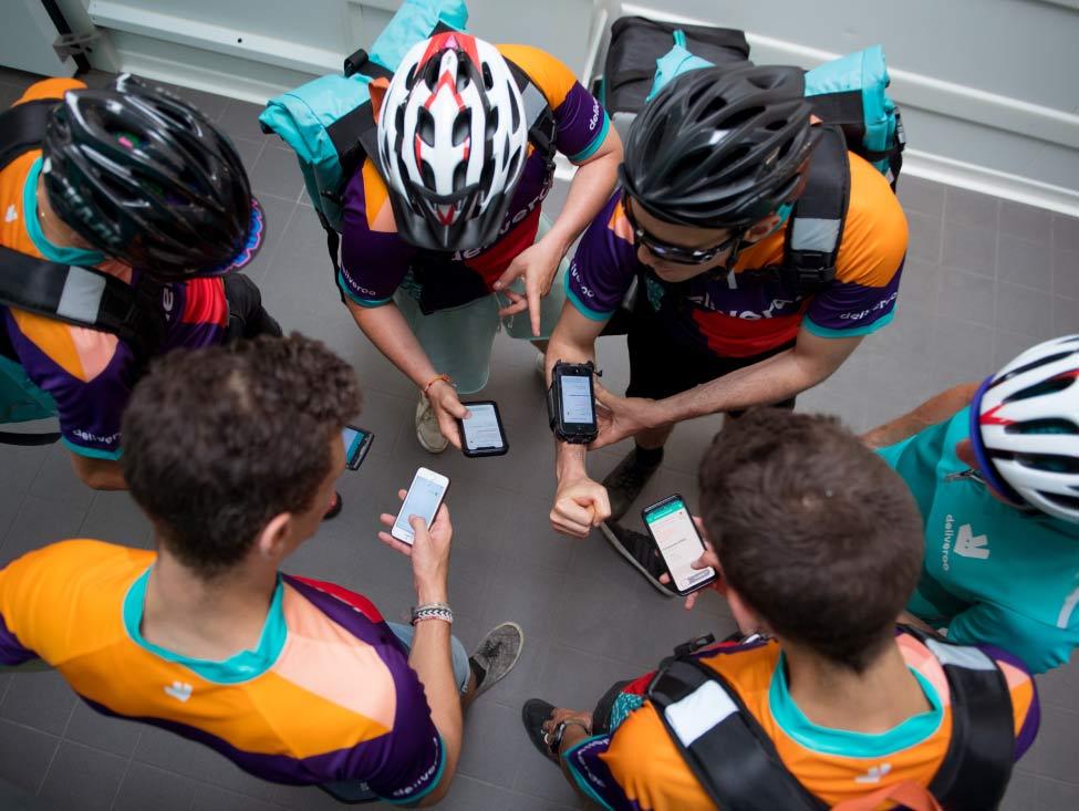 La justice confirme le lien de subordination pour les coursiers à vélo