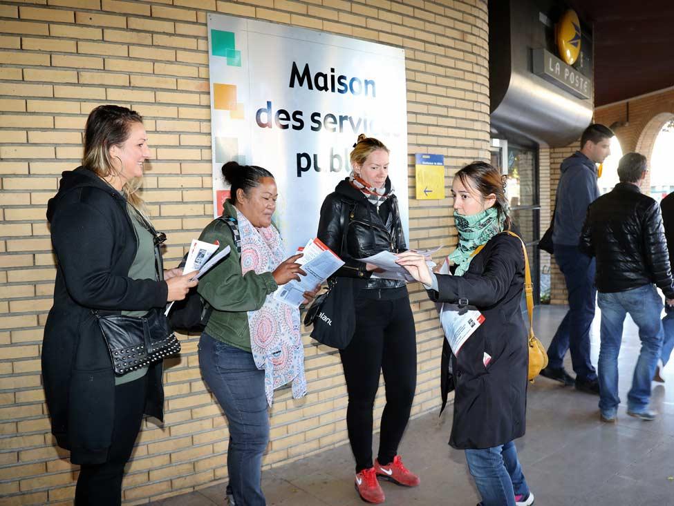 Élections fonction publique : la CGT mobilisée dans le Val-de-Marne