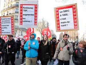 Une première réponse syndicale aux annonces d'Emmanuel Macron