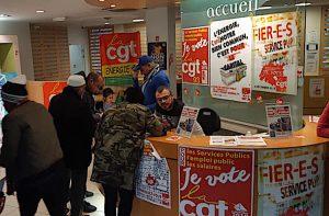 La CGT Énergie maintient ouverte la boutique EDF de La Courneuve malgré tout