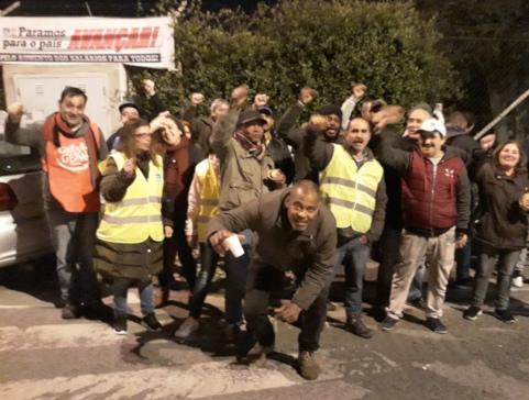 Grève massive dans la fonction publique au Portugal