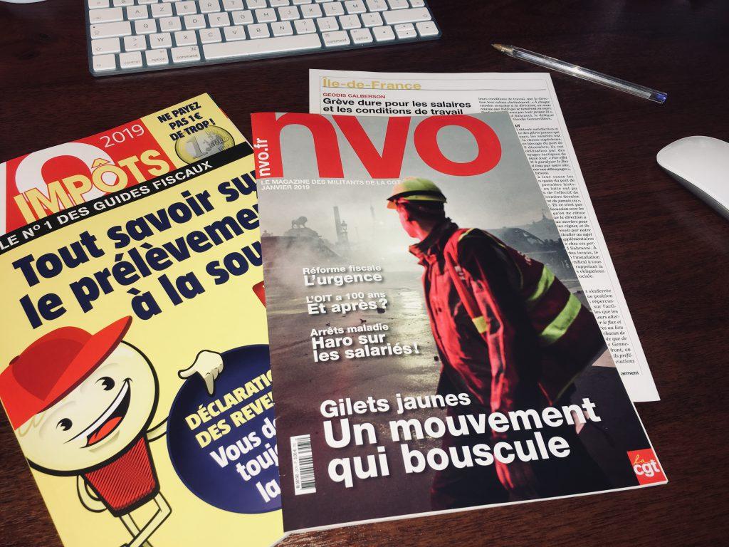 NVO le magazine des militants de la CGT
