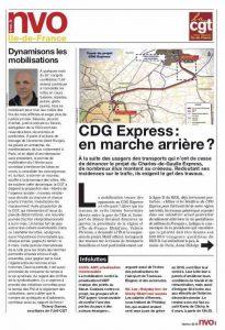URIF 3576 CDG Express : en marche arrière ?
