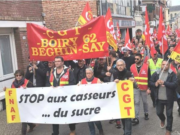 Fermetures de sites et réaffectations, Saint-Louis sucre les emplois