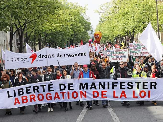 Mobilisation contre la loi « anticasseurs », dans toute la France