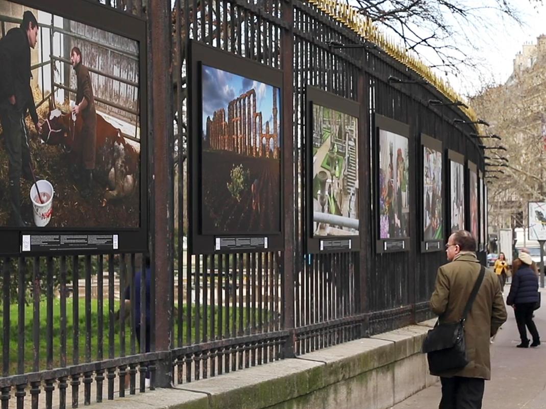 Avec Bernard Thibault, une exposition photo montre le travail sous toutes ses coutures