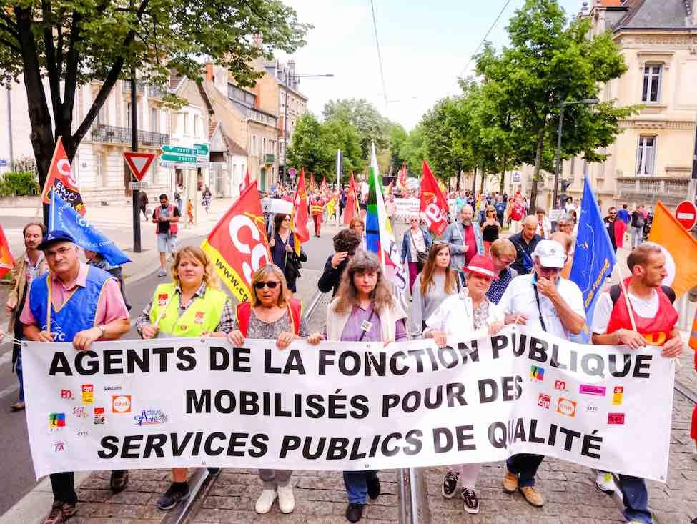 Nouvelle journée de grève pour la fonction publique