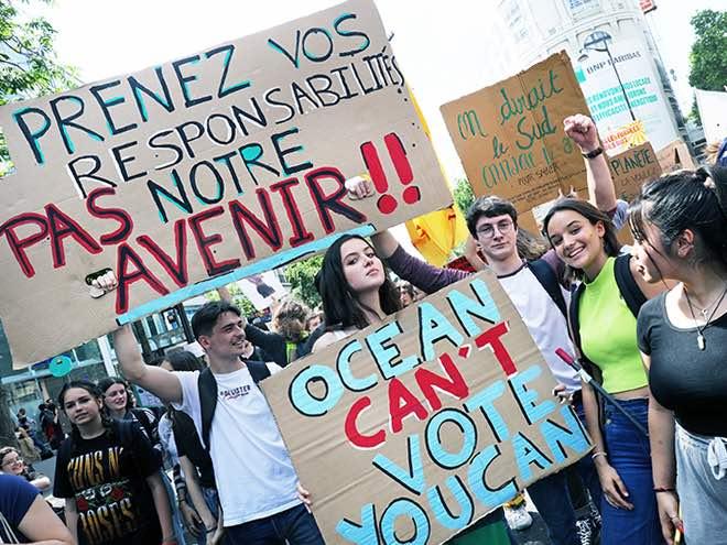 Une nouvelle journée de grève mondiale de la jeunesse pour le climat