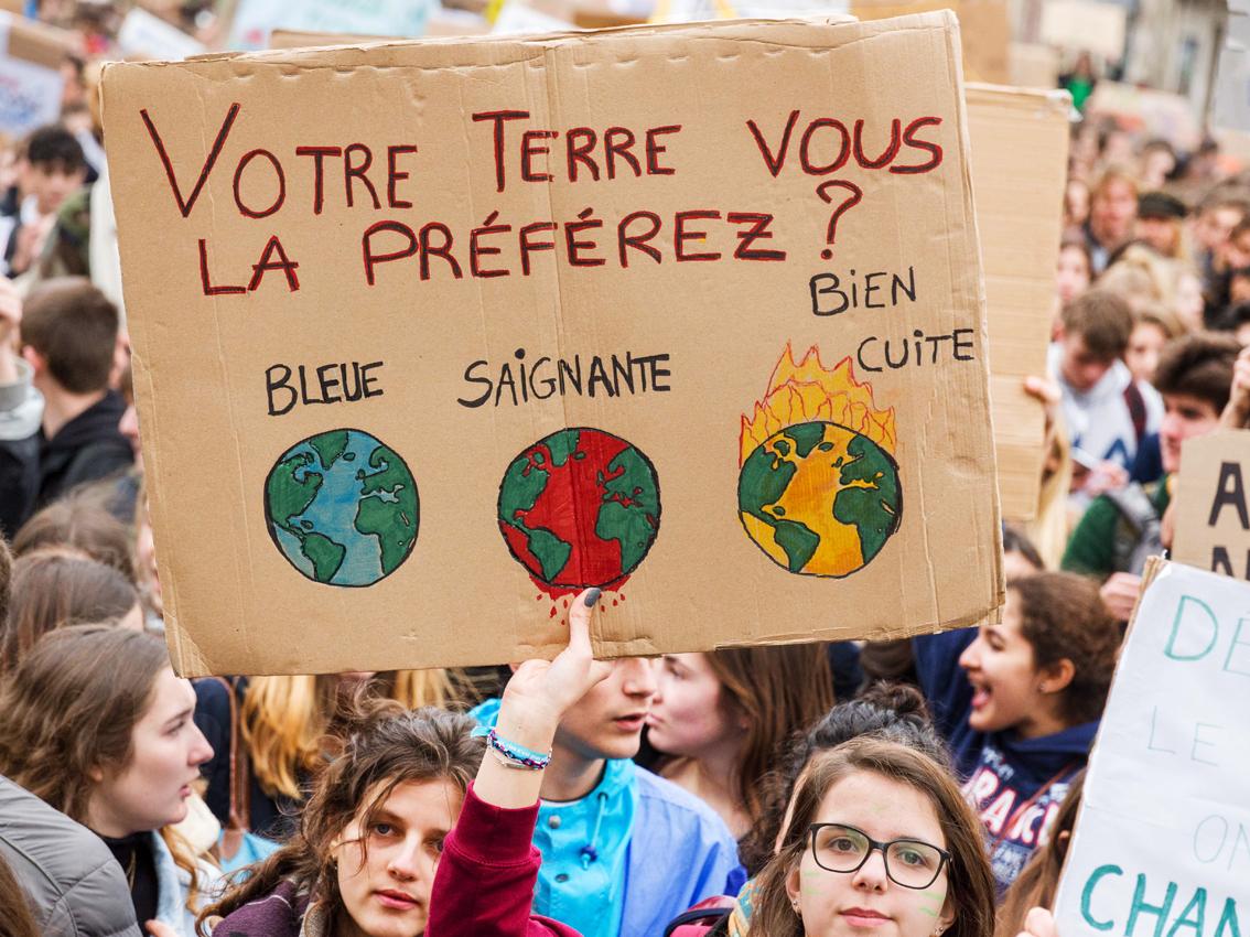 Manifestation et grève pour le climat : la CGT répond présent