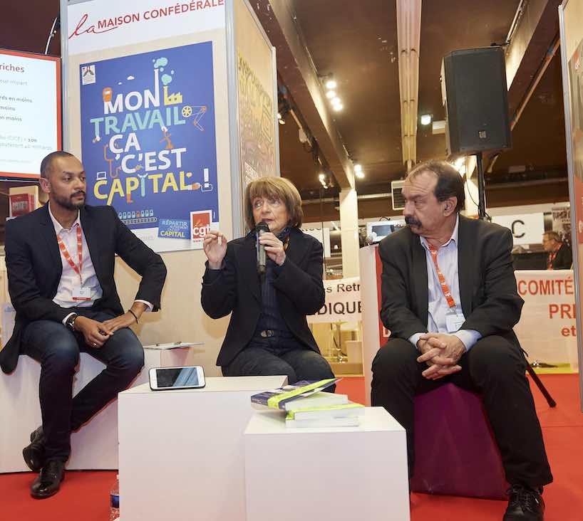 Au Congrès de la CGT, la sociologue Monique Pinçon-Charlot a « la rage » contre « le président des ultra-riches »