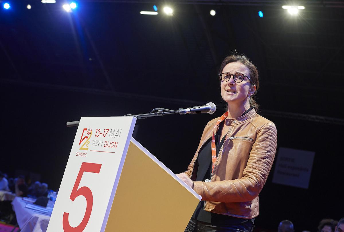 Les militantes et militants de la CGT au 52e congrès, à Dijon.