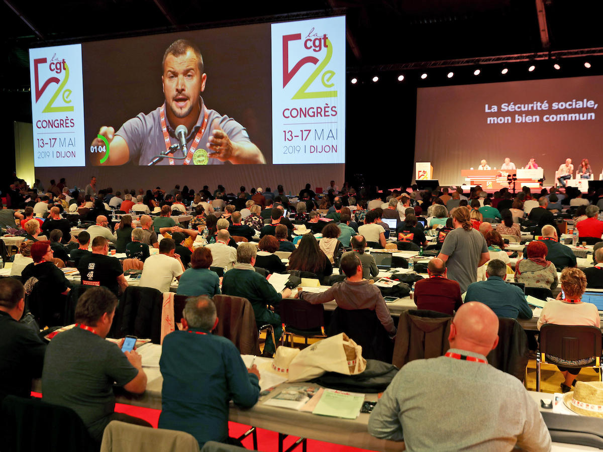 Le 52e congrès de la CGT en photos