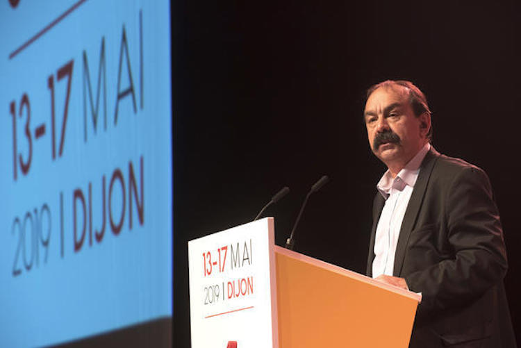 Philippe Martinez ouvre les débats du congrès pour une CGT mobilisée et offensive