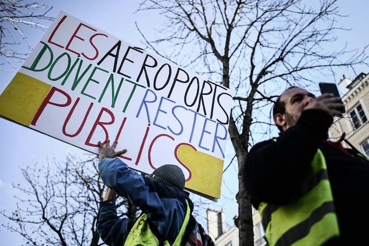 Soutenez la demande de référendum contre le dépeçage d'Aéroports de Paris