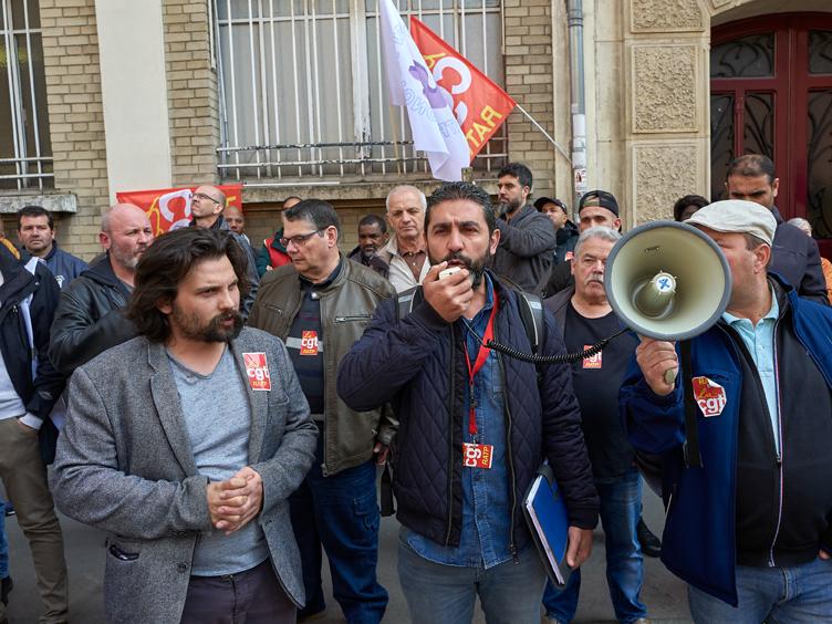 La CGT RATP mobilise pour soutenir deux syndicalistes victimes de répression