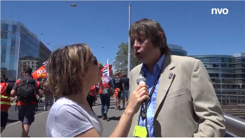 Bernard Thibault présent à la manifestation mondiale pour le centenaire de l'OIT