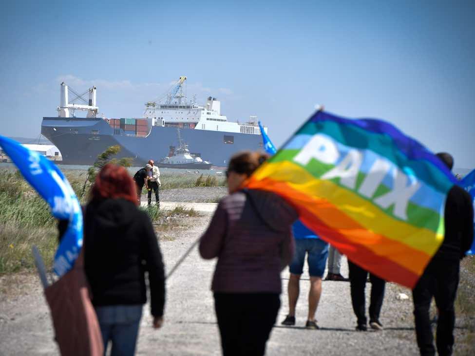 Les dockers CGT refusent de charger des armes pour l'Arabie saoudite