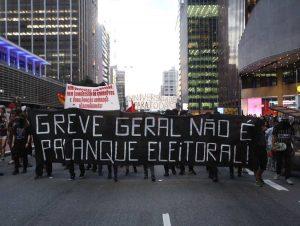 Grève générale massive au Brésil pour les retraites et pour Lula