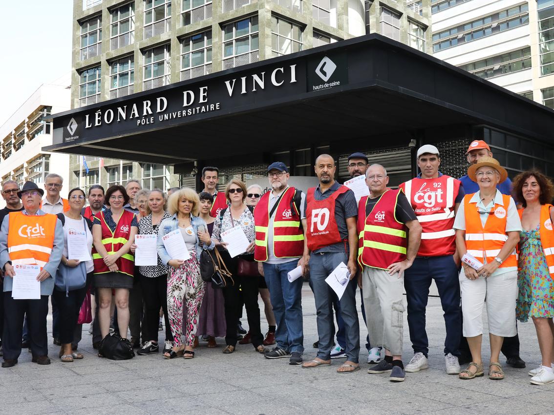 Hauts-de-Seine : le président du conseil départemental veut étrangler les syndicats