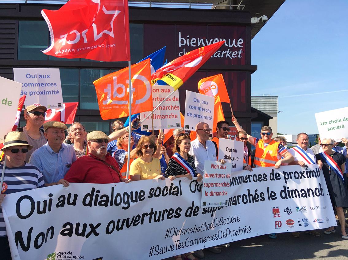 Bretagne : l'ouverture des supermarchés le dimanche fait l'unanimité... contre elle !